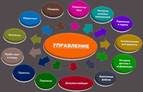Структура управления бизнесом