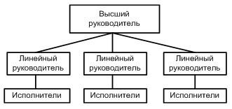Организационная структура управления бизнесом